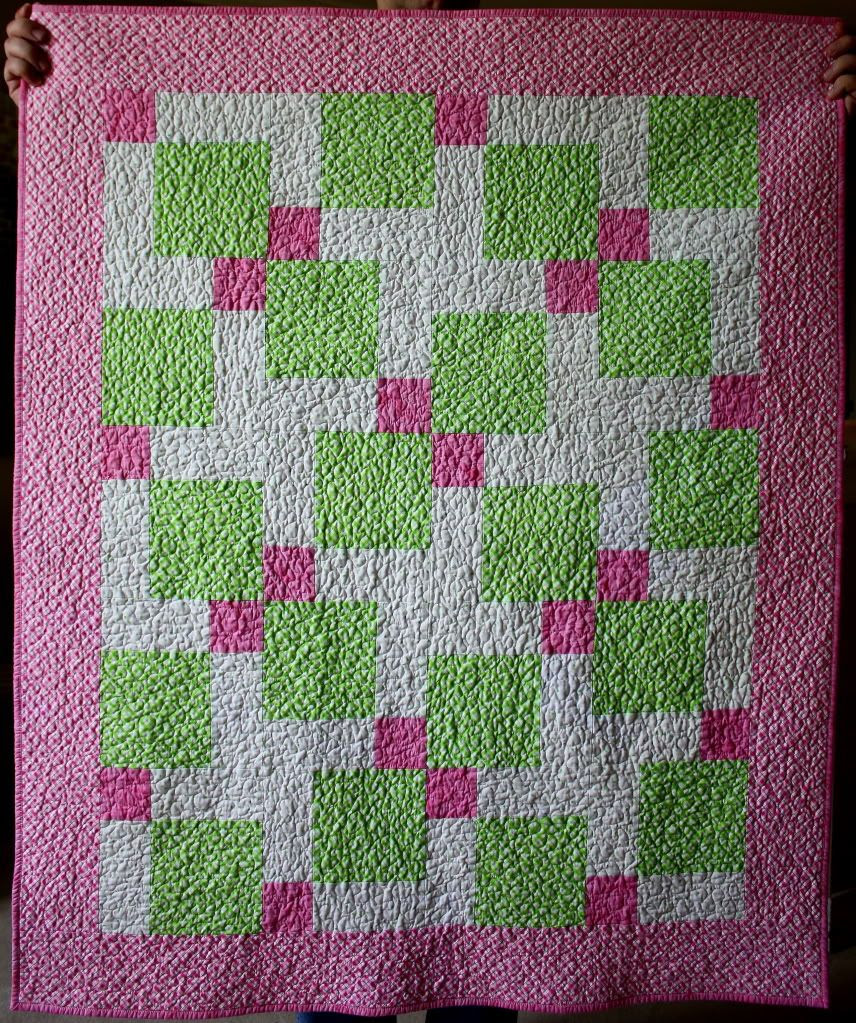 Susan's Texas Quilting Adventures: Disappearing Nine-Patch