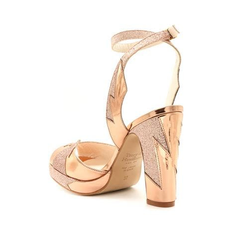 Zia Rose Gold   Terry de Havilland   Designer Luxury Shoes