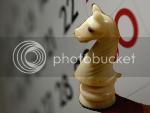 Mbdortmund's chess knight photo with DafneCholet's Calendar* photo