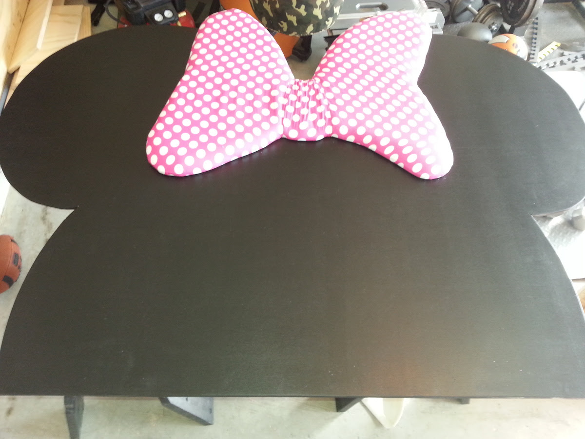 Ana White Minnie Mouse Storage Daybed Diy Projects