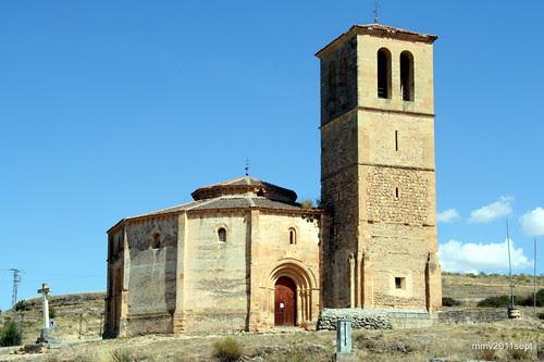 Siglo XIII. Iglesia de la Orden del Santo Sepulcro de Jerusalén de la Vera Cruz de Segovia hoy al cuidado de la Orden de Malta