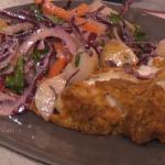 Phil Vickery fondant pepper quiche Lorraine recipe on This ...