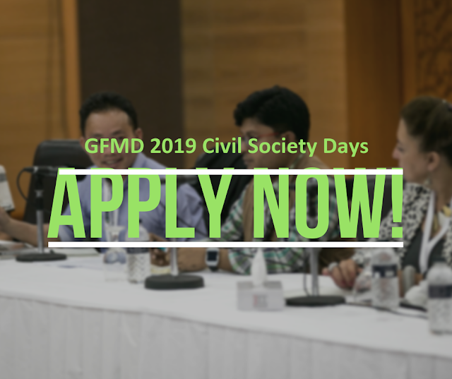 2019 Global Forum on Migration and Development (GFMD) : Full Fund Available
