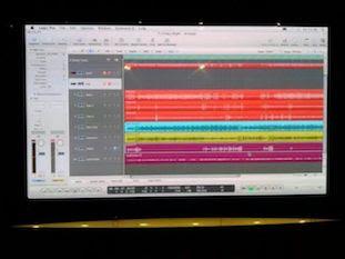 X.O.Dus recording in the studio 2013