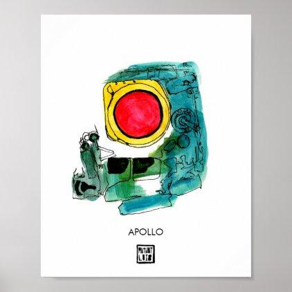 APOLLO Space Poster