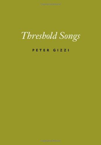 Threshold Songs Peter Gizzi Wesleyan Univ Press