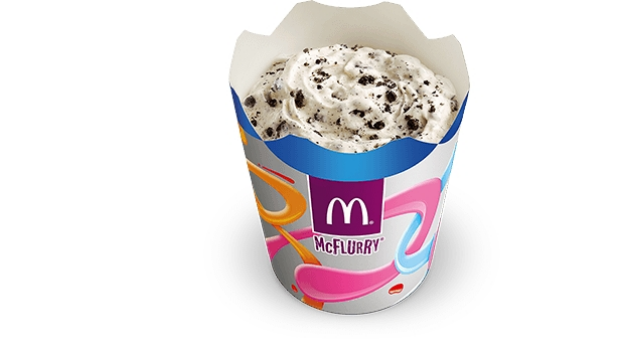 A McDonald's McFlurry.