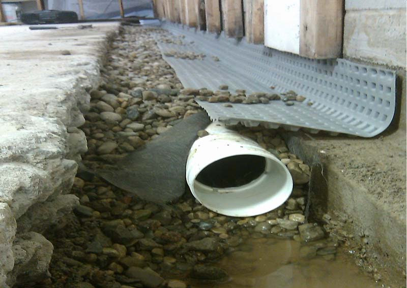 How To Design A French Drain System Design System Examples