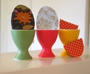 Interchangeable Easter Eggs x3 magnets
