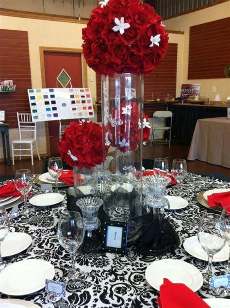 Faux Red Rose Petal Pomander   Weddingbee Photo Gallery