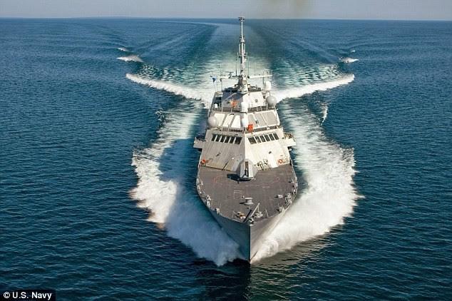 Hình ảnh Mỹ đưa chiến hạm mới nhất tới tuần tra Biển Đông số 1