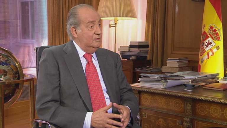 El rey concede una entrevista a TVE por su 75º cumpleaños