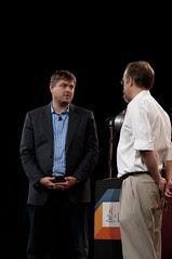 "Ilja Laurs and Adam Messinger, JavaOne 2011 San Francisco ""Java Strategey Keynote"""