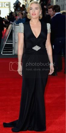 Kate Winslet Fashion Style at the Titanic 3D Premiere