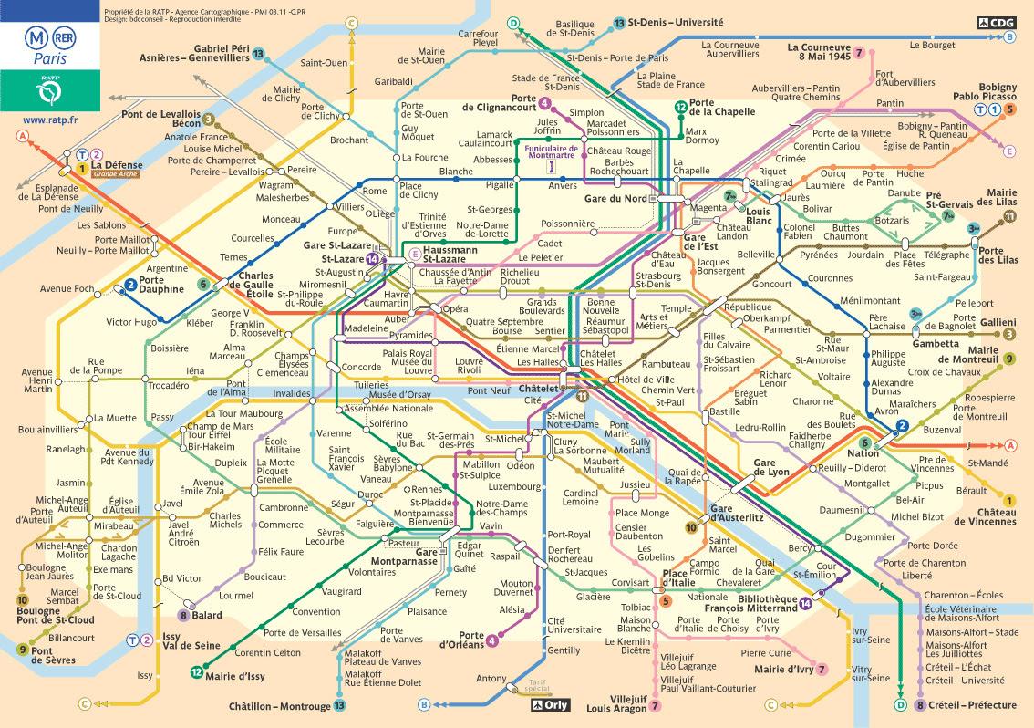 Transporte público em Paris (4)