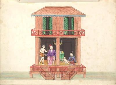 A Burmese house