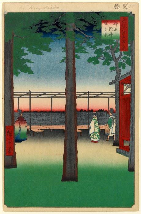 Dawn at Kanda Myōjin Shrine
