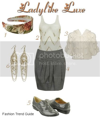 ladylike luxe style