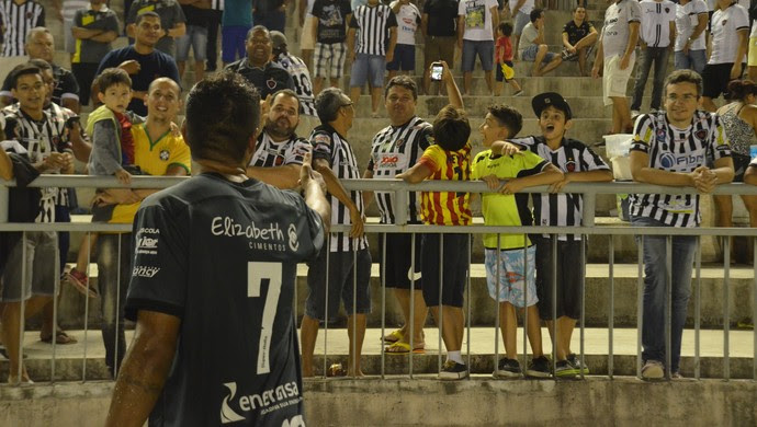 Pedro Antônio, Val, Botafogo-PB (Foto: Hévilla Wanderley / GloboEsporte.com/pb)