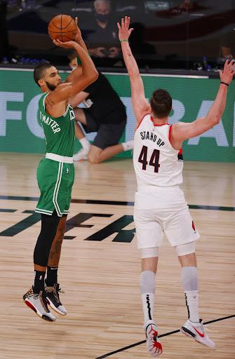 Avatar of Tatum has 34 as Celtics beat Trail Blazers 128-124