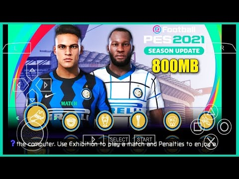 PES 2021 PPSSPP – PSP ISO PS4 Camera Download For Android/PC