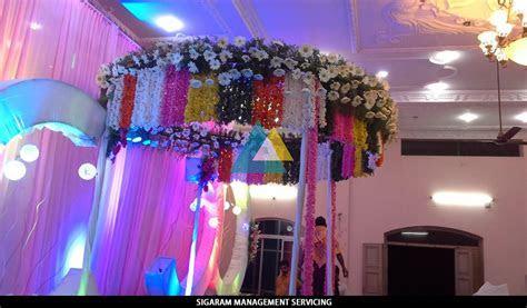 Wedding Decoration at Samikannu Tirumana Mandapam
