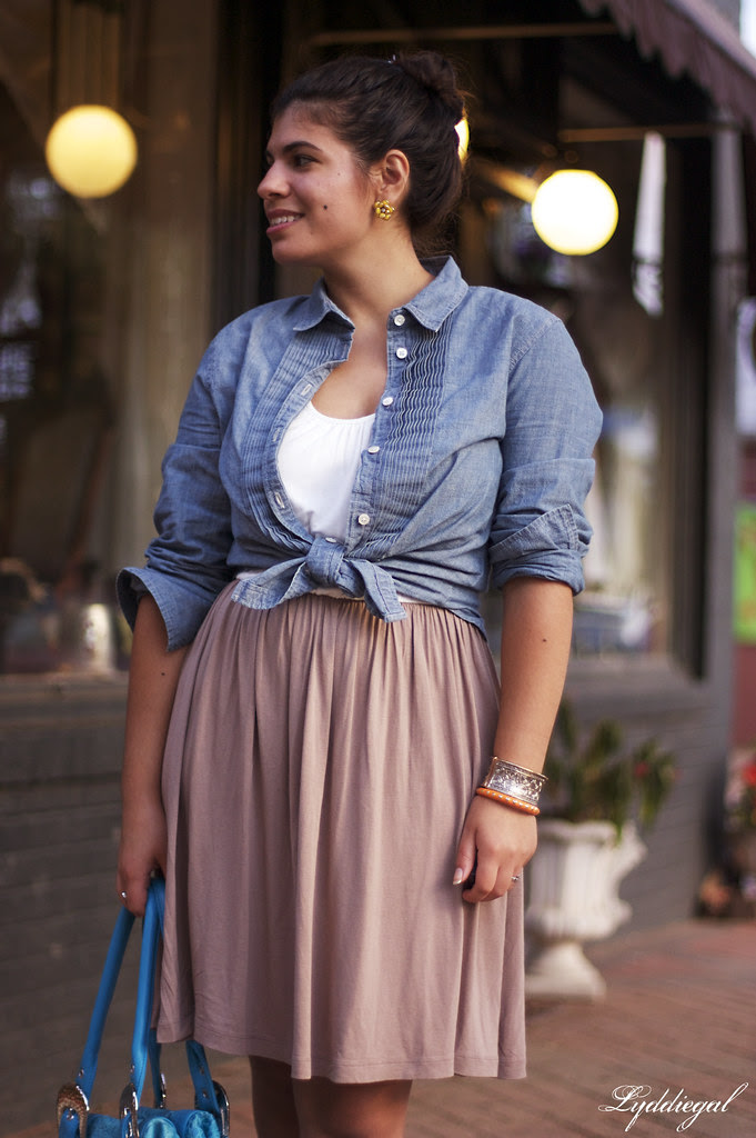 A little chambray