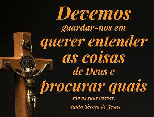 Frases De Santa Teresa De Jesus Imagenes De Luto