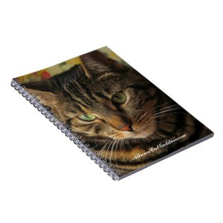 Athena Cat Goddess Notebook