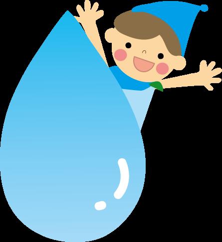 水のイラスト無料イラストフリー素材