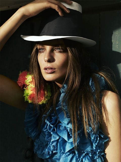 fashion, hat, turquiose, cool, beautiful, via trendnista