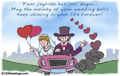 The Journey Has Just Begun! Free Just Married eCards