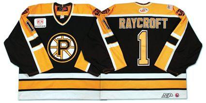 Providence Bruins 01-02 jersey