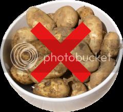 No more potatoes for you