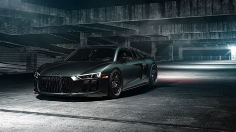 Audi R8 Vossen Wheels Wallpaper 1080p Wallpaper