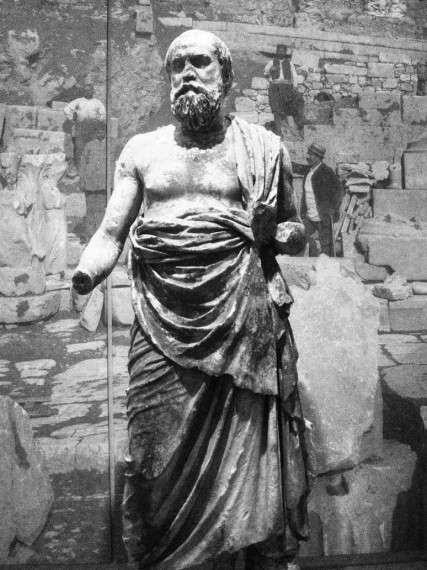 Ο Σωκράτης στο Αρχαιολογικό Μουσείο Δελφών