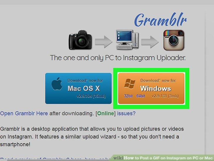 Gramblr Sends Your Pictures From Your Computer To Instagram - How To