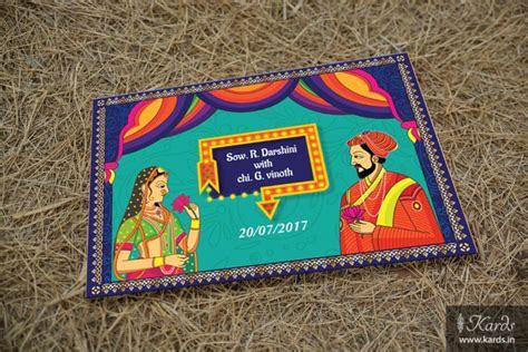 31 best Indian art form inspired wedding invitations