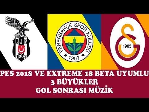 PES 2018 Gol Sonrası Çalan Müzik Yaması (3 Büyükler)