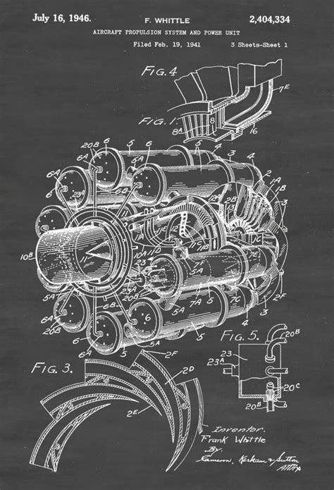 Frank Whittle's Jet Engine Design - Circa 1941 | WV