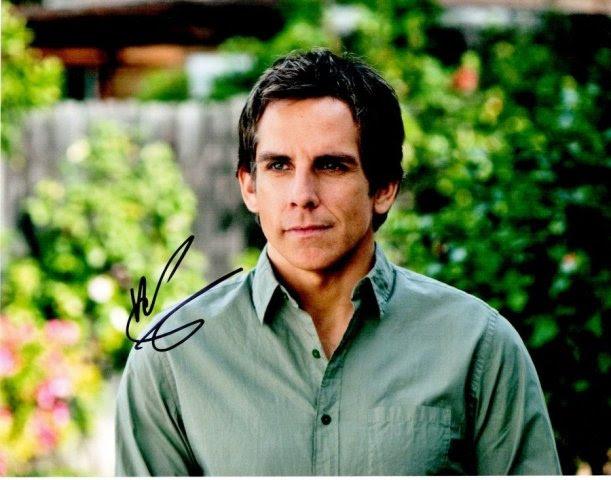 BStiller11x14-1 Ben Stiller Signed - Autographed Meet The Fockers 11 x 14 in. Photo - Meet The Parents Actor