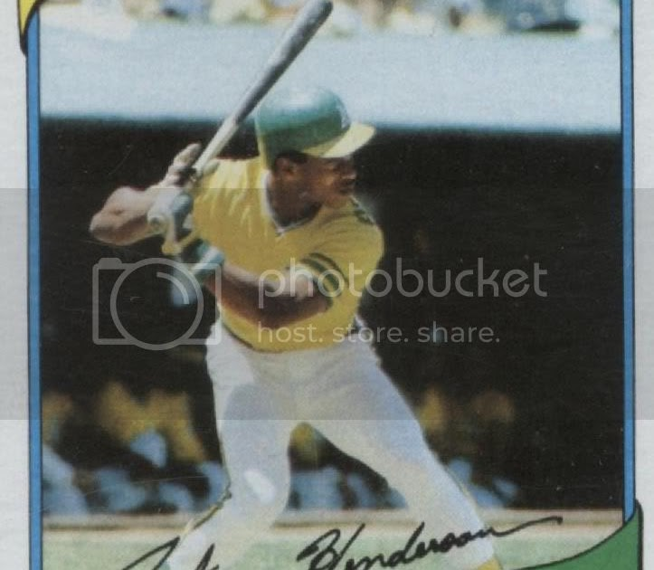 Rickey Henderson Collectibles: 1980 Topps Rookie Card