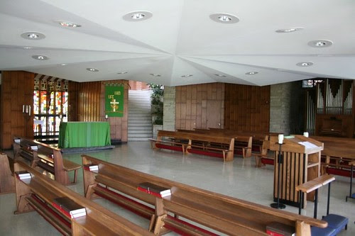 Ground floor chapel