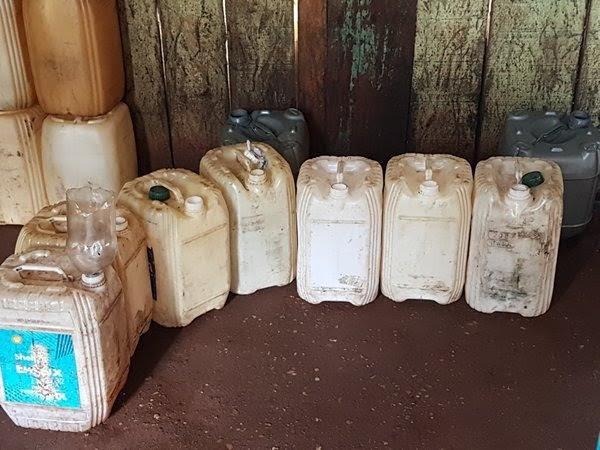 Por dia, esquema desviada até 100 litros de combustível.  (Foto: Divulgação/ PRF)
