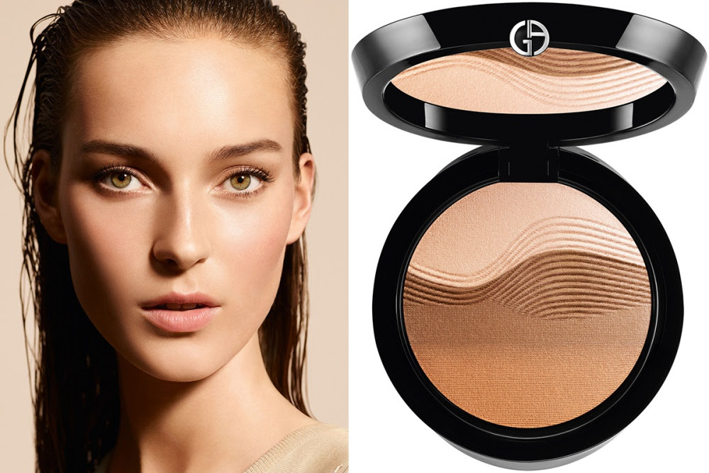 Giorgio Armani Life is a Cruise Sunrise Bronzing Face Palette