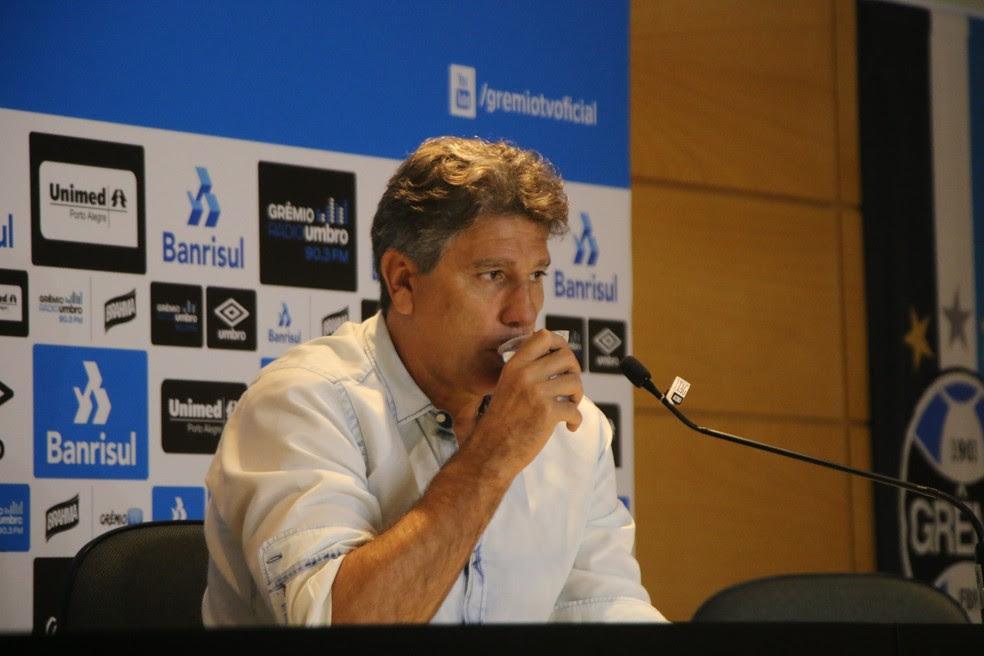 Renato: Jogadores honraram mais do que nunca a camisa (Foto: Eduardo Moura/GloboEsporte.com)