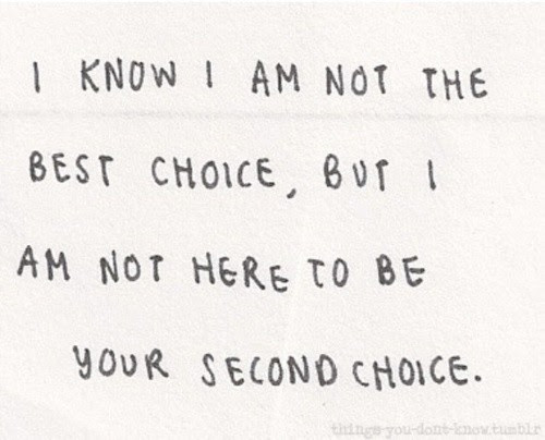 Never Settle For Second Best Quote Quote Number 682698 Picture