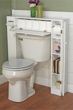 Poco espacio en el baño? Aquí una idea! #homedecor