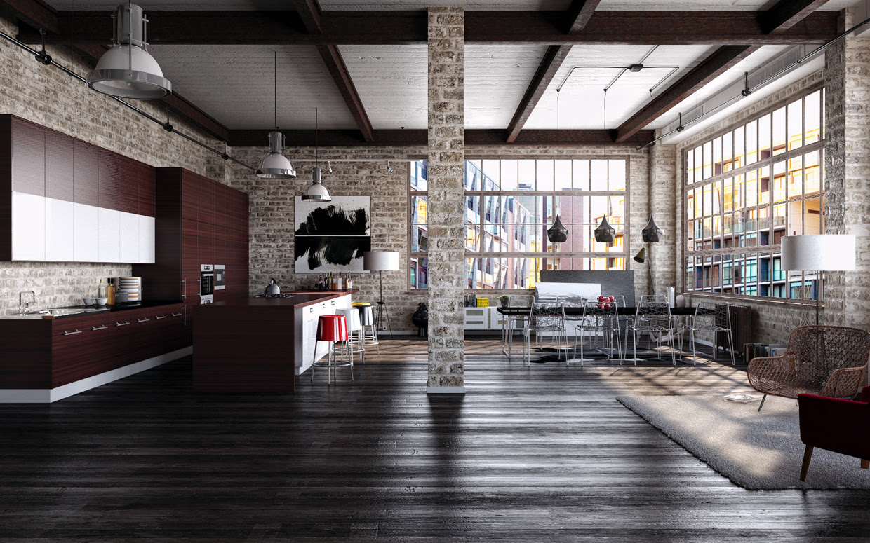 Modern Industrial Decor Modern Industrial Interior Design ...