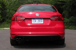 2012 Volkswagen Jetta GLI rear view